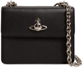 Vivienne Westwood Florence Medium Leather Shoulder Bag
