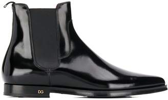 Dolce & Gabbana pointed Chelsea boots