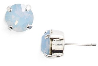 Women's L. Erickson 'Grace' Crystal Stud Earrings $38 thestylecure.com