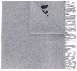 McQ embroidered logo scarf