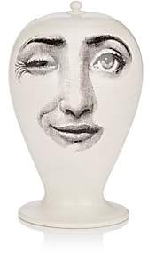 Fornasetti L'Antipatico Craquele Vase - White