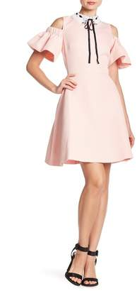 Ted Baker Cold Shoulder Skater Dress