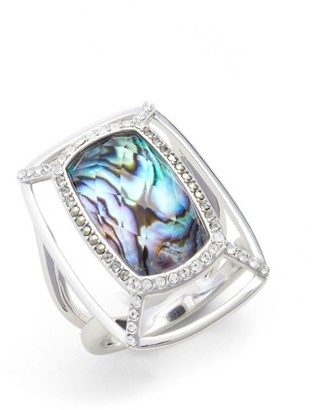 Women's Judith Jack Abalone Dome Ring $145 thestylecure.com