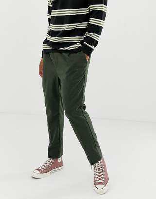 Weekday Thriller joggers in khaki