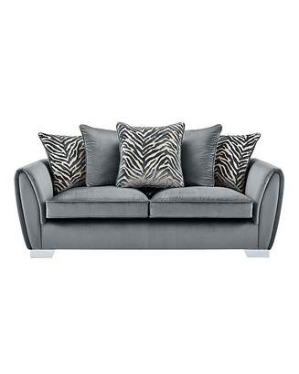 Fashion World Valentina 3 Seater Sofa