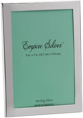 Empire SilverTM 5 x 7 Sterling Photo Frame