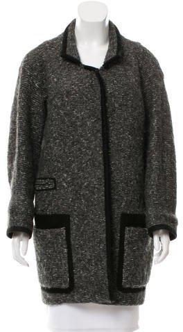 Isabel MarantIsabel Marant Suede-Trimmed Bouclé Coat