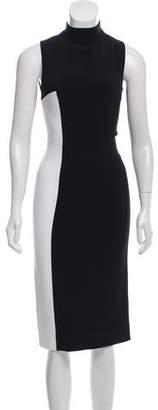 Tanya Taylor Two-Tone Midi Dress