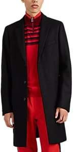 Paul Smith Men's Wool-Blend Overcoat - Black