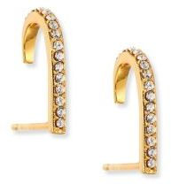 Jules Smith Crystal Pave Suspender Earrings $40 thestylecure.com