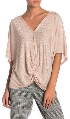 June & Hudson Twist Knit Top