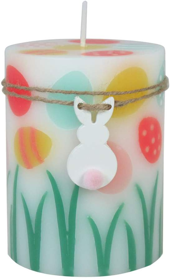 Celebrate Easter Together Peach Fizz 3″ x 4″ Pillar Candle