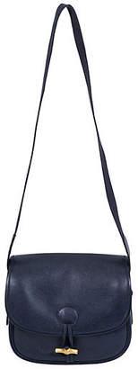 One Kings Lane Vintage Hermès Navy Epsom Shoulder Bag