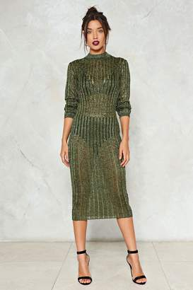 Nasty Gal In Knit for the Long Haul Knit Dress