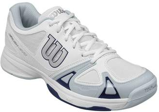 Wilson Men`s Rush Evo Tennis Shoe, / Pearl Blue/ Navy