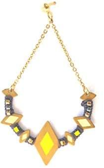 Inca Un Jour Mon Prince – Drop Earrings – e16 a07or7011 – Brass