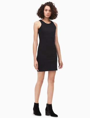 Calvin Klein denim edge racerback dress