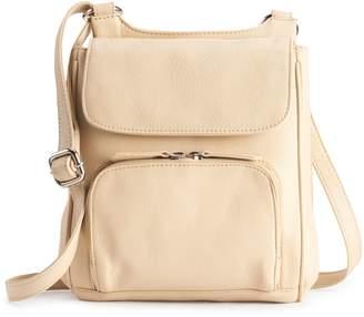 Paradox Leather Crossbody Organizer Bag
