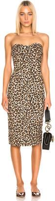 Veronica Beard Liza Dress in Leopard | FWRD