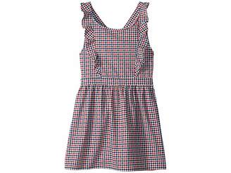 Tommy Hilfiger Houndstooth Dress (Big Kids)