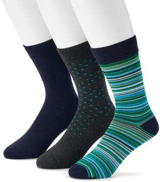 Hanes Men's 3-pack Ultimate Fresh IQ Crew Socks