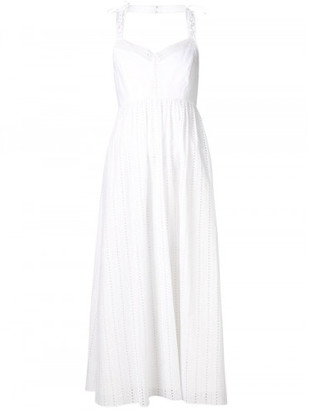 Thakoon flared embroidered dress