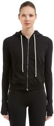 Rick Owens Drkshdw Hooded Cotton Sweatshirt