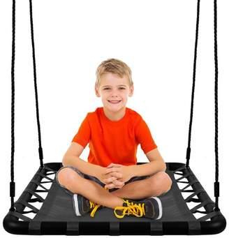KhomoGear Platform Swing Seat With Straps