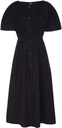 ADAM by Adam Lippes Dolman Sleeve A-Line Cotton Dress