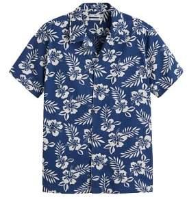 MANGO MAN Regular-fit hawaiian print shirt