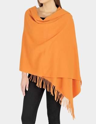Acne Studios 180X70 Canada Scarf in Orange Wool