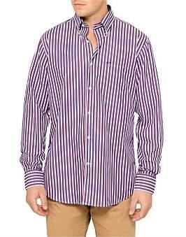 Paul & Shark L/S Bengal Stripe Shirt