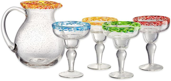 Artland Artland® Mingle 5-Piece Margarita Set in Multi