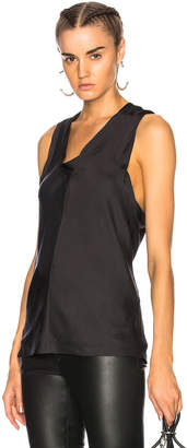 Alexander Wang Paneled Bias Tank Top