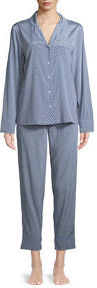 Stella McCartney Poppy Snoozing Pants Silk Pajama Set