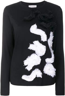 Sonia Rykiel longsleeved embellished T-shirt
