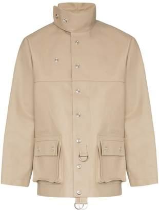 Sunnei high-neck oversized military jacket