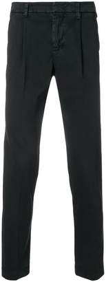 Entre Amis tapered chino trousers