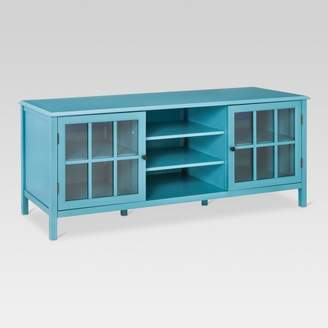 Threshold Windham Large TV Stand Teal
