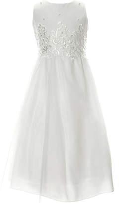 Keepsake Embellished Sleeveless A-Line Dress - Big Kid Girls Plus