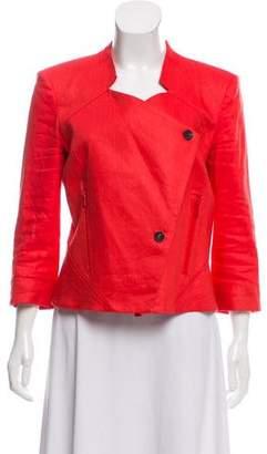 Helmut Lang Linen Button-Up Jacket