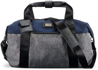 Ted Baker Brunswick Softside Holdall - Grey/Blue - Small