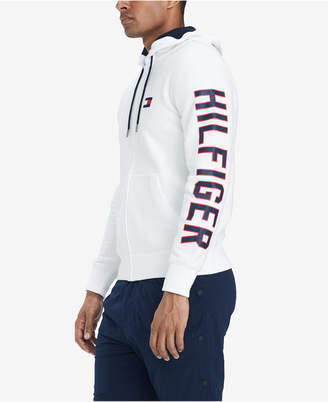 Tommy Hilfiger Men's Zip-Up Logo Hoodie, Created for Macy's