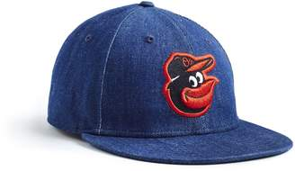 Todd Snyder + New Era + NEW ERA MLB BALTIMORE ORIOLES CAP IN CONE DENIM