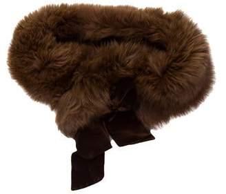 J. Mendel Bow Fur Stole