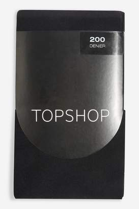 Topshop Womens 200 Denier Tights