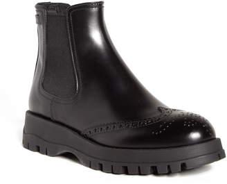 Prada Lug Sole Chelsea Boot