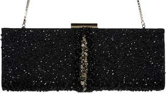 "Salvatore Ferragamo Women's ""KAMERON"" Sequin Decorated Clutch"