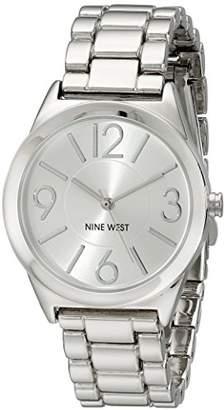Nine West Women's NW/1663SVSB -Tone Bracelet Watch