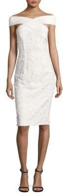 Black Halo Leone Sheath Dress